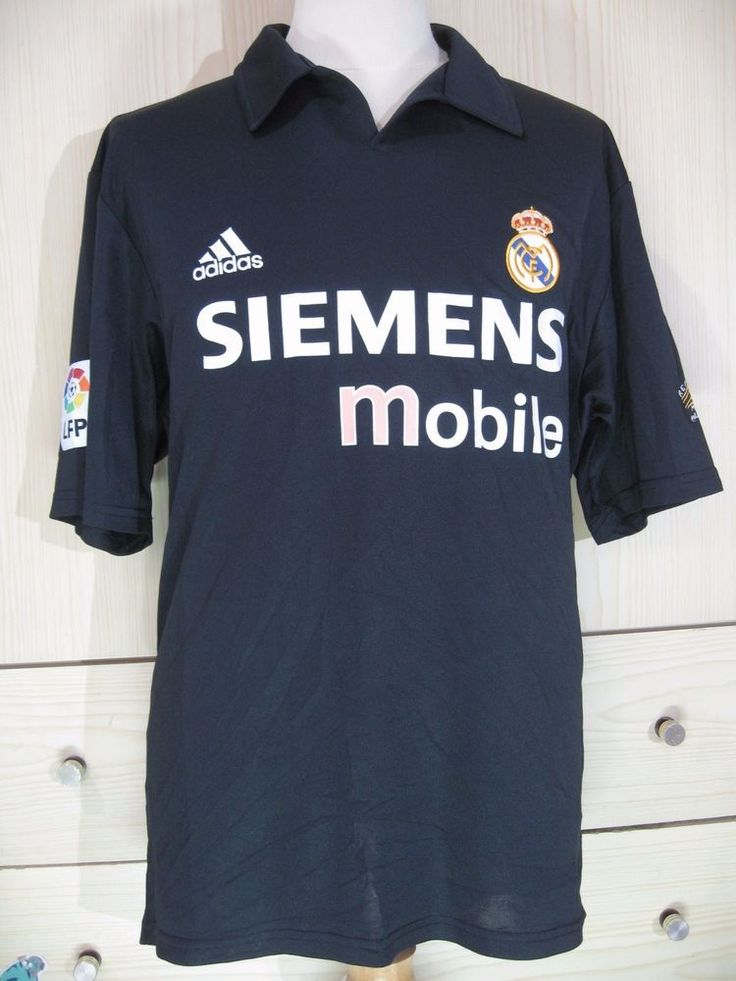 Raul Gonzalez Real Madrid Centenary Vtg 02 Spain Football Shirt Soccer Jersey L | eBay