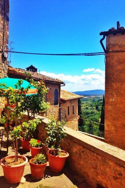 San Gimignano , province of Siena , Tuscany region Italy