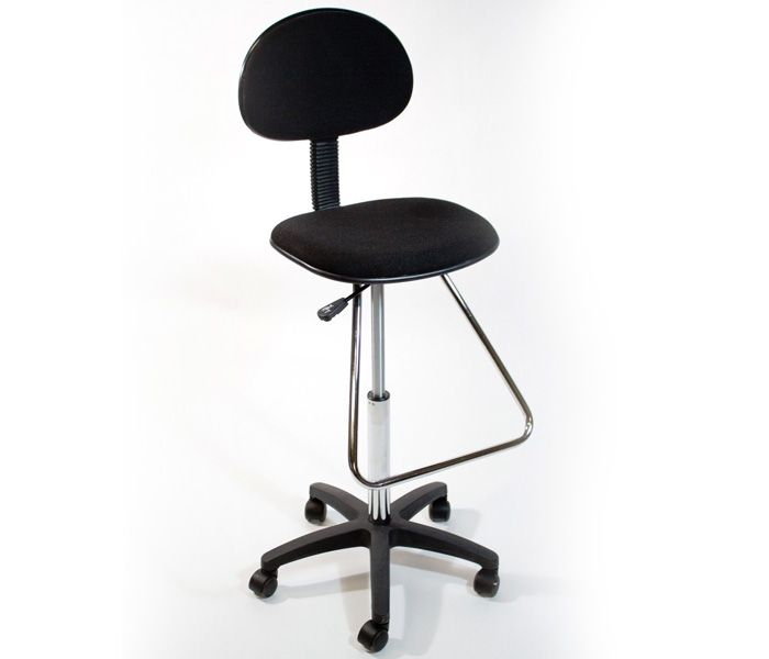 Nice A Luxury Crafting From Meubles, This Cushioned Drafting Stool Is Adorned  With A Charming Appeal