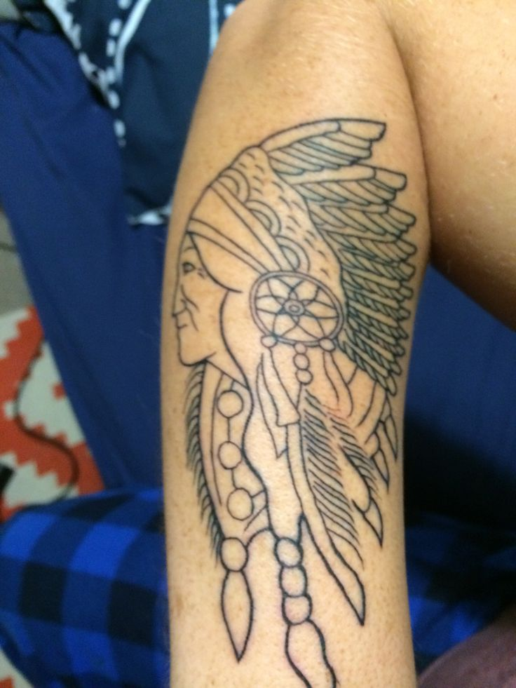 Start of my Native American Indian
