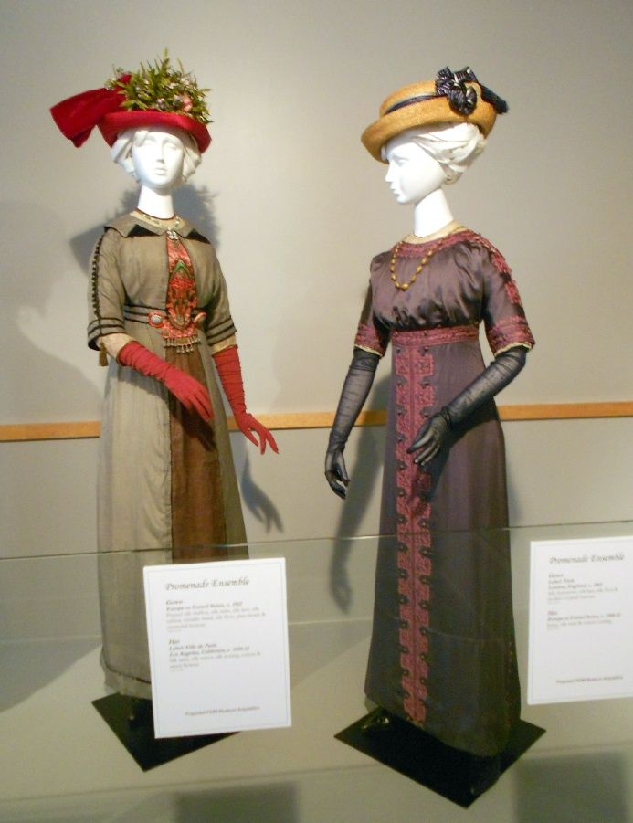 631 Best Images About Real Historical Gowns 1910 1919 On