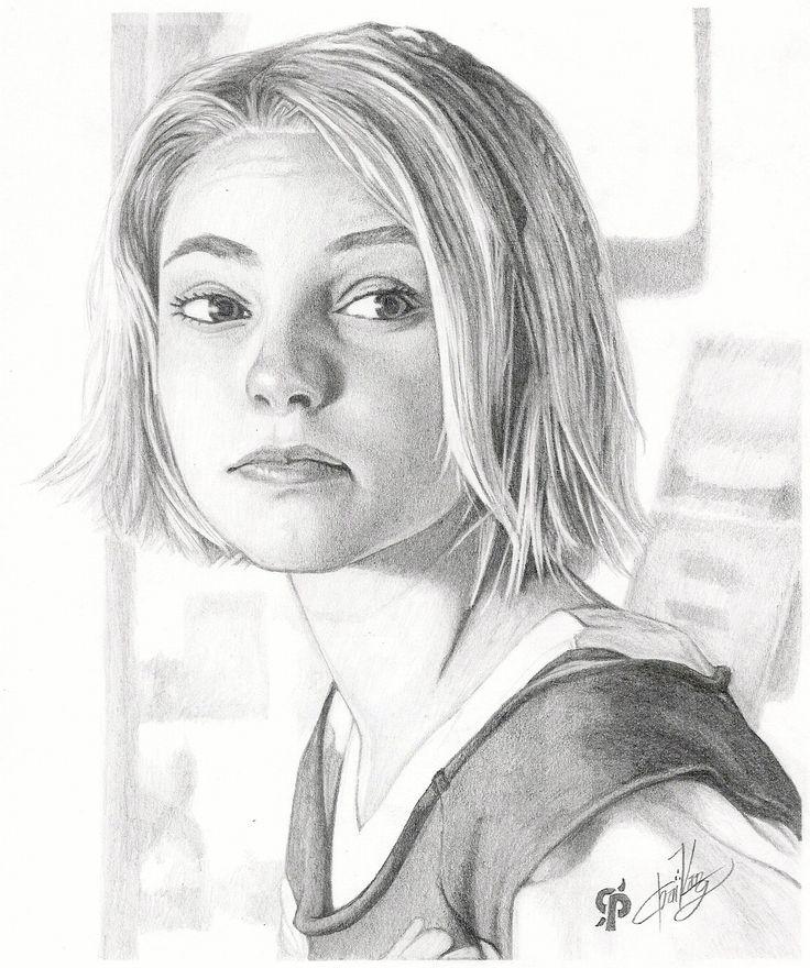 pencil art | AnnaSophia Robb Pencil Portraits