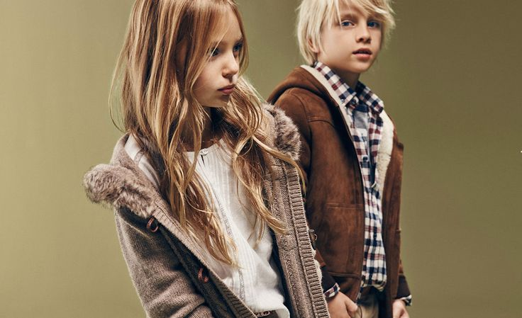 Love this strong shot for Massimo Dutti fall/winter 2015 Boys and Girls collection