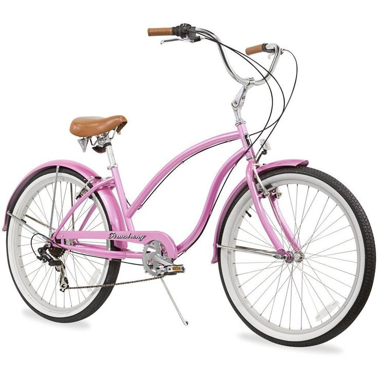 """26"""" Firmstrong Chief Lady Seven Speed Beach Cruiser Bicycle,"""