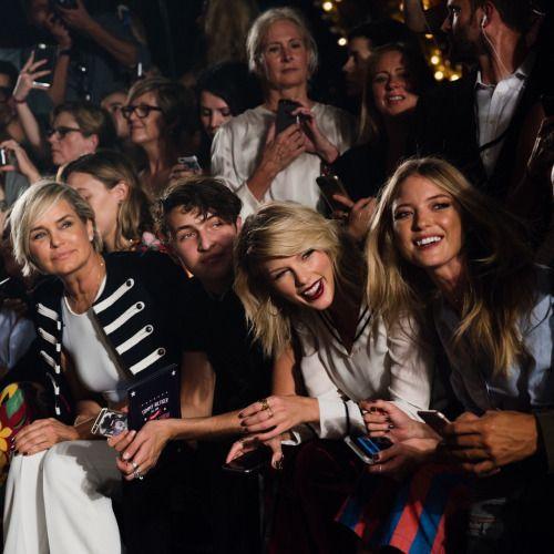 Taylor Swift,Martha Hunt,Tommy Hilfiger show,TommyXGigi