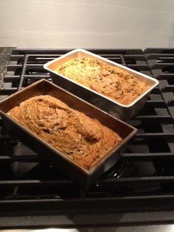Low Fat Healthy Zucchini Bread