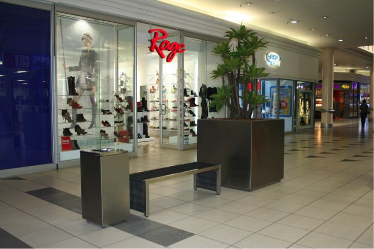 Contemporary-Bench-Southgate-Mall