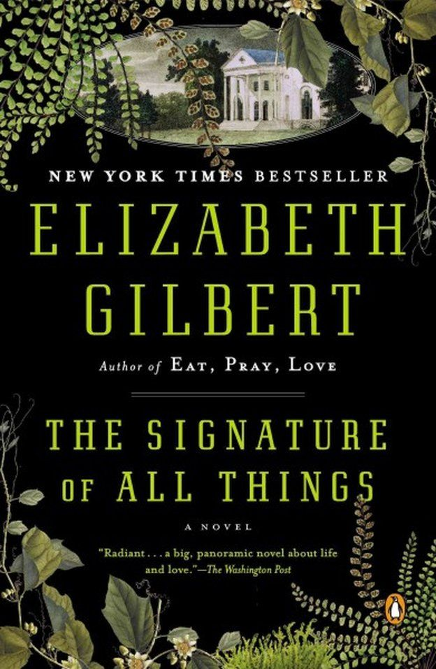 The Signature of All Things  Can't wait to read it and meet EG when she comes to Cleveland in November!