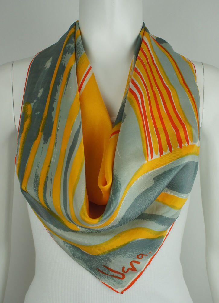 dating vera neumann scarf Vintage accessories coffee and blue sillk scarf circa 1960s vera neumann vera neumann $2700 bright rainbow canvas belt w/ eagle buckle circa 1970s none $.