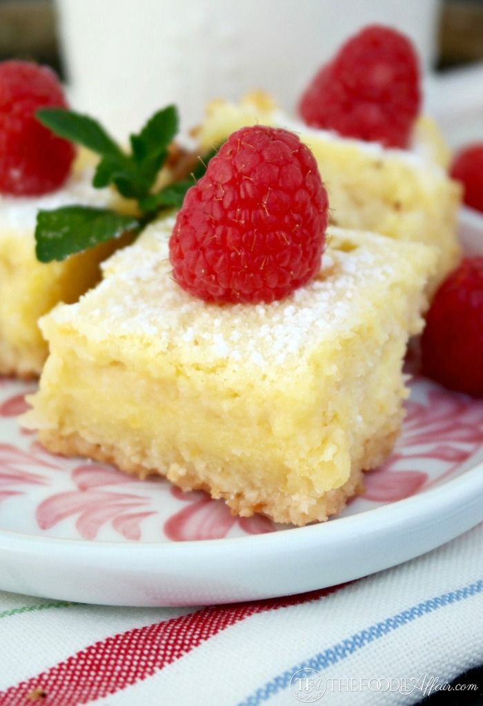Lemon Bars that are low carb and gluten free! These luscious lip smacking bars have all the flavors you are familiar with, but keto and low carb friendly!
