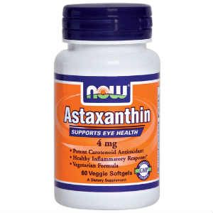 Nowfoods Astaxanthin 4 mg  60 V.Caps