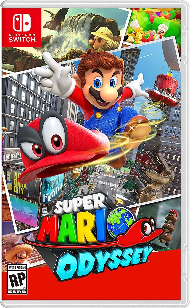 Super Mario Odyssey on Nintendo Switch