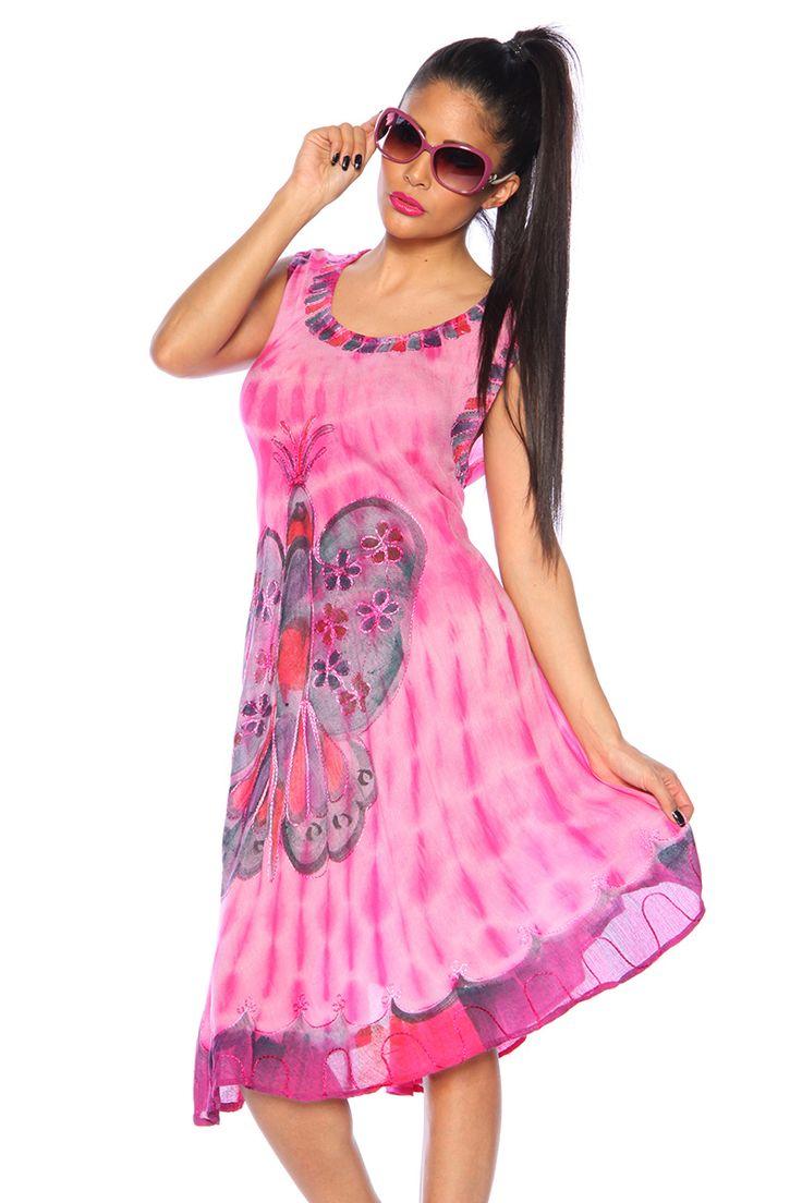 Rochie vaporoasa, de culoare fuchsia, cu imprimeu si broderie -->>> http://www.mujer.ro/rochie-vaporoasa-de-culoare-fuchsia-cu-imprimeu-si-broderie