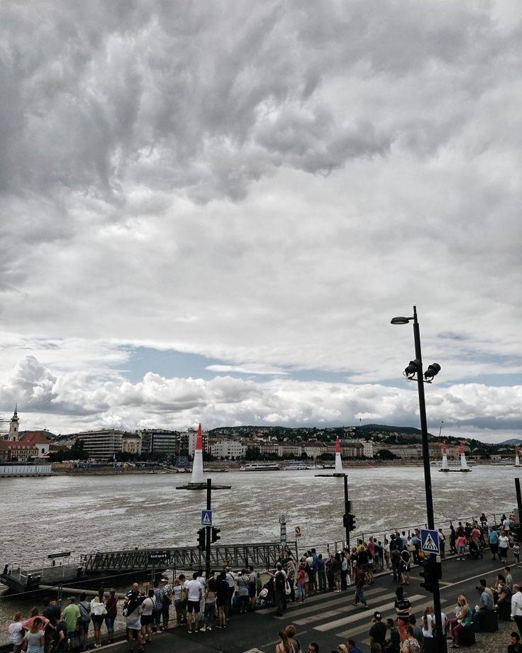 #airraceBudapest #Danube #cloudy #summer
