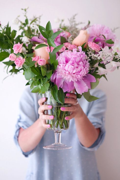 How to create a cascading floral arrangement