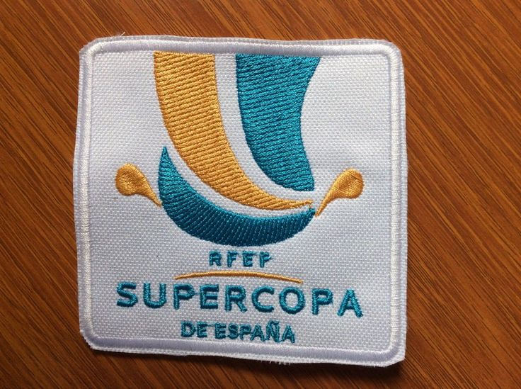 Patch badge #supercopa de #españa - #spain #super cup - barcelona - real madrid, View more on the LINK: http://www.zeppy.io/product/gb/2/282229178852/