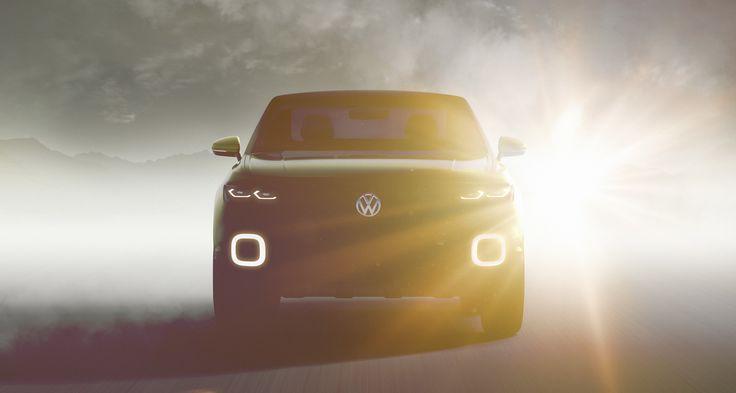 Volkswagen Teases New Small SUV Concept Ahead Of Geneva