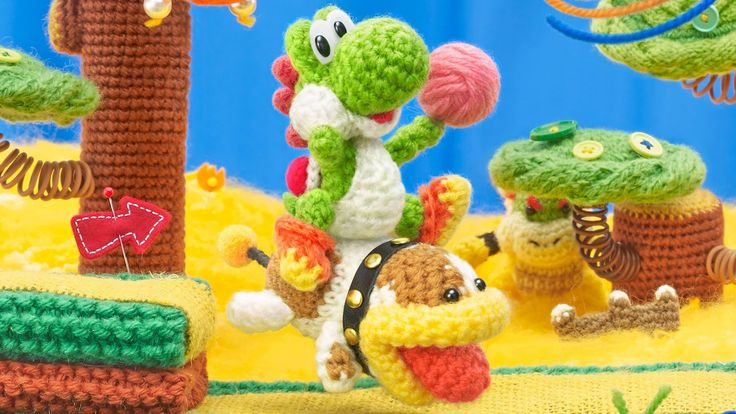 Yoshi brings his friend Poochy along in this handheld version of Yoshi's Woolly World on 3DS after making it's debut on Wii U in 2015. Let's see how one of the best installments in the Yoshi's franchise performs on 3DS.