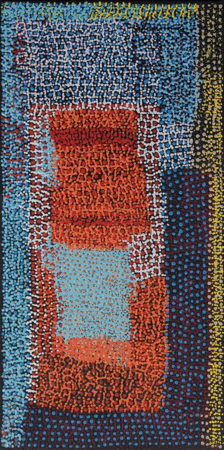 Tommy Mitchell / Wakalpuka 101.6 x 50.8cm