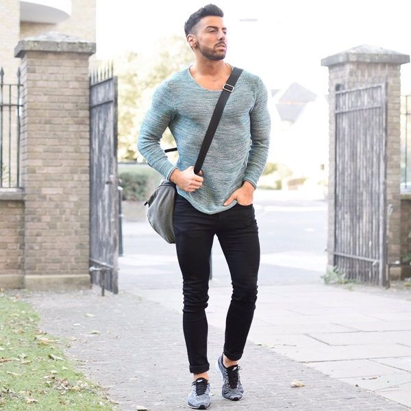 shoes to wear with black jeans men