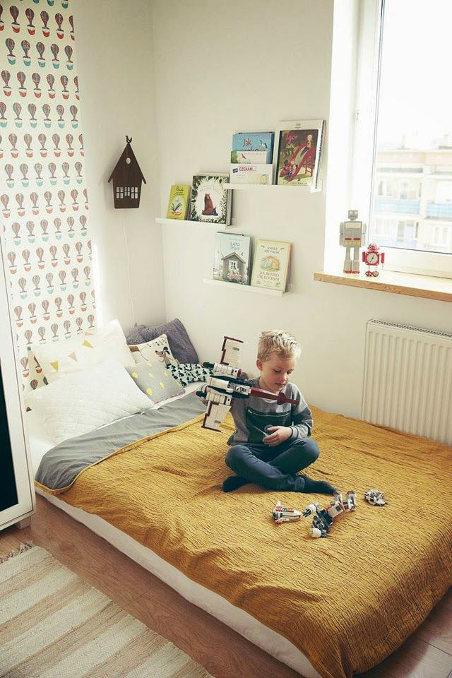 decoração quarto montessoriano - The Blue Post