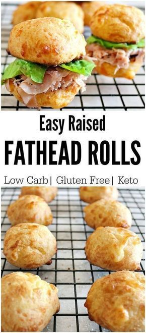 Keto Fathead Sandwich Rolls! Are you in love with the popular fathead pizza dough? Then you will love our low carb fathead rolls. Use them for anything! Raised, soft, and delicious.