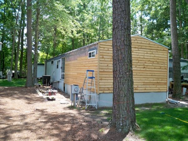 Mobile Home Remodel - Home Exterior Designs - Decorating Ideas - HGTV Rate My Space