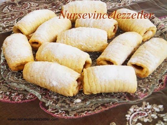 elmalı kurabiye, elmalı kurabiye nasıl yapılır, çizik kurabiye, elmalı , elma, kurabiye, nursevince ,oktay usta patates dilimleyici, dilimli kurabiye,