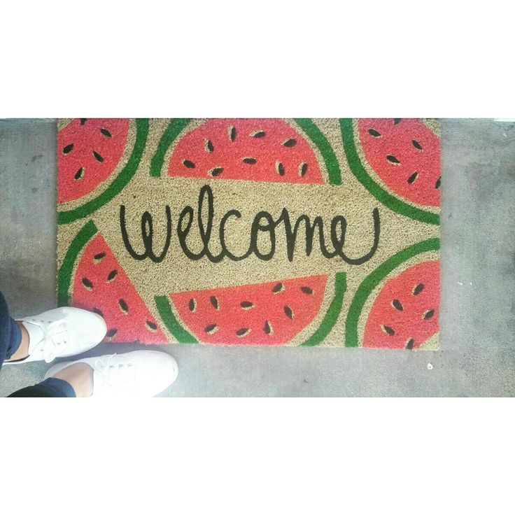 25 Best Ideas About Welcome Mats On Pinterest Welcome