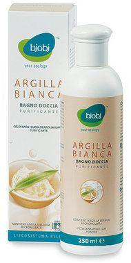 Bjobj Bagno Doccia Purificante  Argilla Bianca