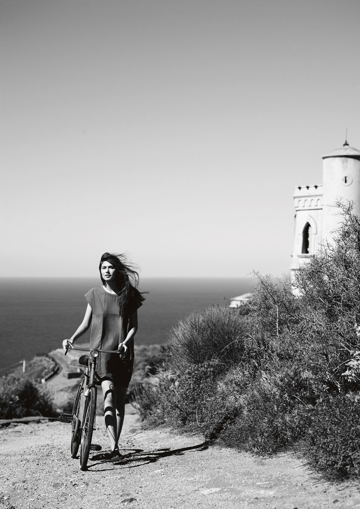 dreamy. i want to ride my bike by the sea