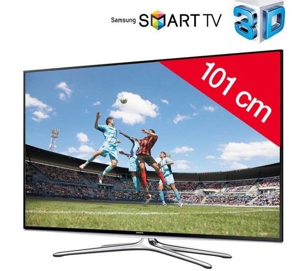 SAMSUNG UE40H6200 - 3D LED-televisie Smart TV   HDMI 1.4-kabel F3Y021BF2M - 2 m | €349.38