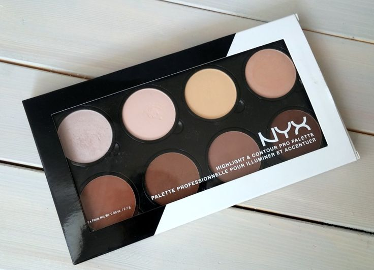Noradler: NYX highlight & contour pro palette