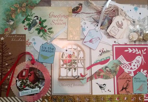 Christmas Ephemera Pack Christmas Paper Pack Christmas