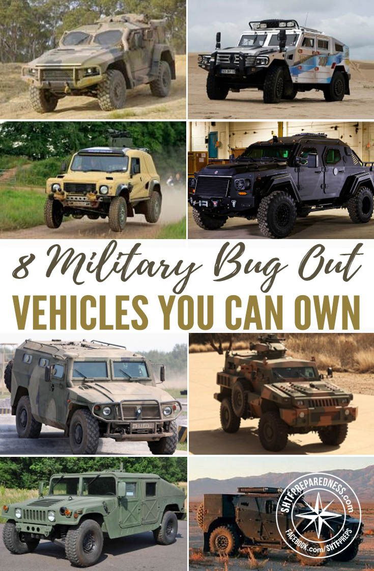 8 Military Bug Out Vehicles YOU Can Own Floyd Bays