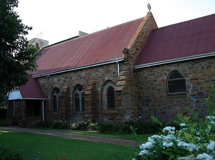 St Mary's Anglican Church Potchefstroom Single storey, square form. Pitched corrugated iron roofsheeting. Claybricks wall, plastered with cl Type of site: House Current use: House. The Anglican church, built in 1890-91, in the Neo-Gothic style, was the first building in Potchefstroom resembling this historic Neo-Gothic style. The parish in Potchefstroom is one of the oldest in the Transvaal.