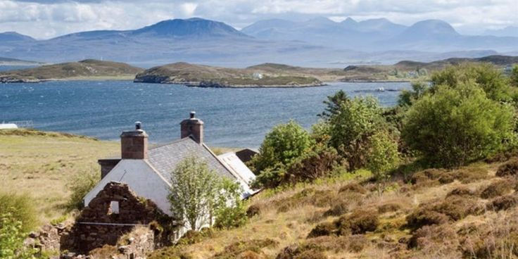There's an Entire Island for Sale in the Scottish Highlands, and It's the Most Charming Place on Earth