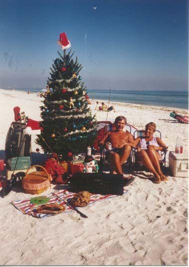 christmas on the beach