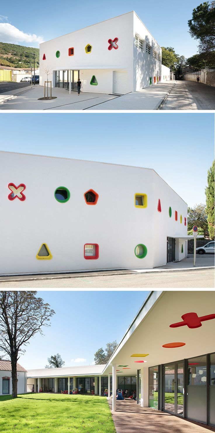 This Fun-Filled Childcare Center Is Like A Big Toy Box // France