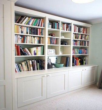 Fitted Storage Solutions by Urban Wardrobes - contemporary - Bookcases - London - Urban Wardrobes