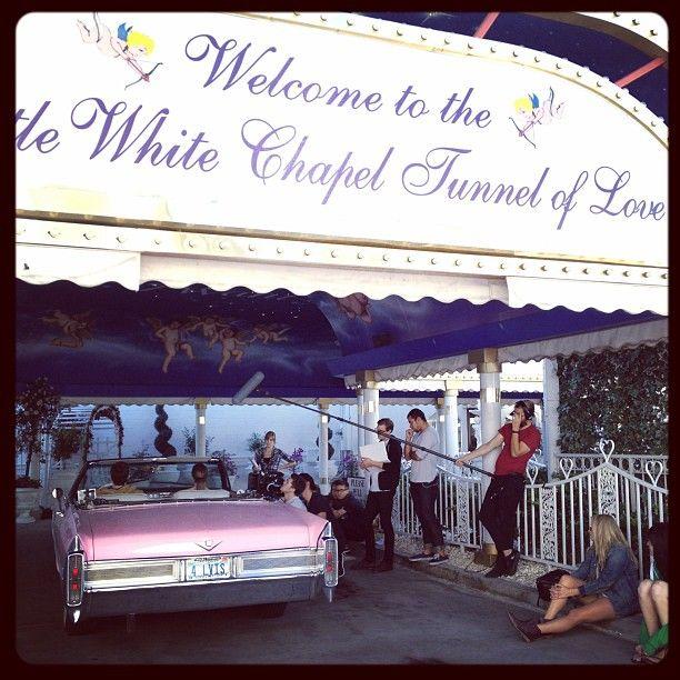 A Little White Wedding Chapel in Las Vegas, NV