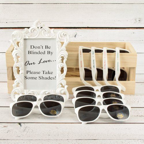 Sunglasses with Personalized Labels by Beau-coup