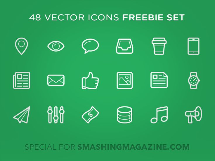 Hey everyone! Today I prepare for you something special.  Linecons - 48 outline icons.  Download them from smashingmagazine.com.  - View full set in Attachments. - View full presentation on Behance...