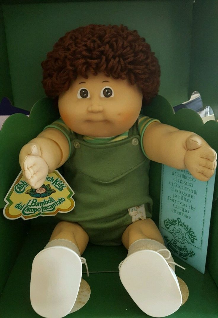 VINTAGE 1984 CABBAGE PATCH KIDS DOLL BOY XAVIER ROBERTS ITALIAN ORIGINAL BOX | eBay