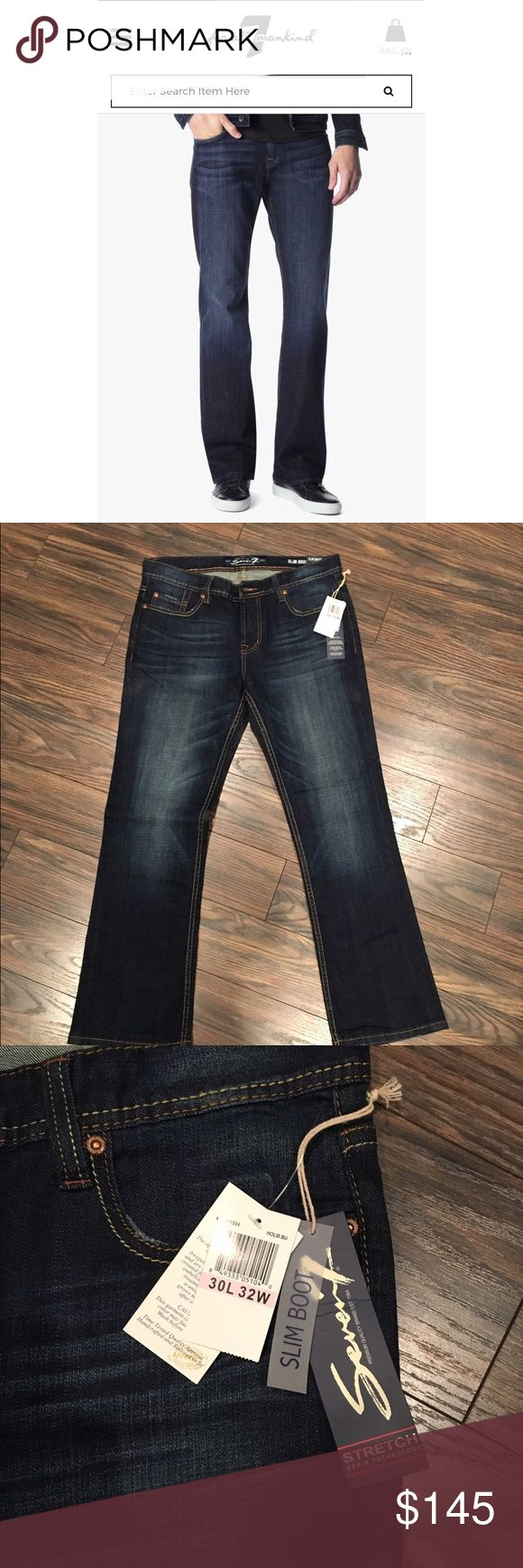 Seven7 Slim Bootcut Jeans NWT 💥flash sale for shipping promotion💥 Slim Bootcut. NWT Seven7 Jeans
