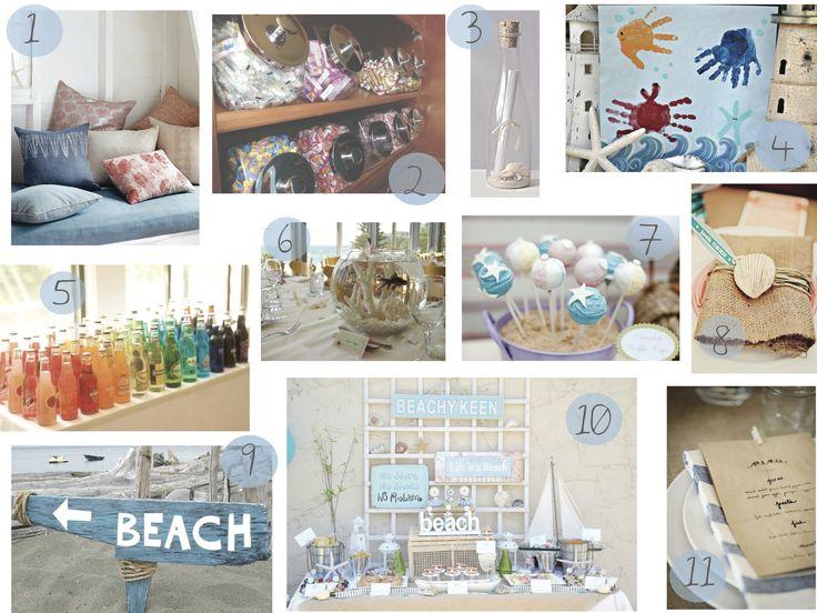 60 best Beach Bum Birthday Party Ideas images on Pinterest Beach