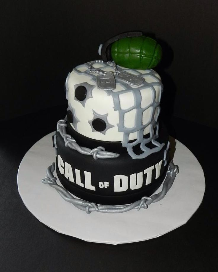 Call Of Duty Cake Call Of Duty Cakes Cute Cakes Cakes For Boys