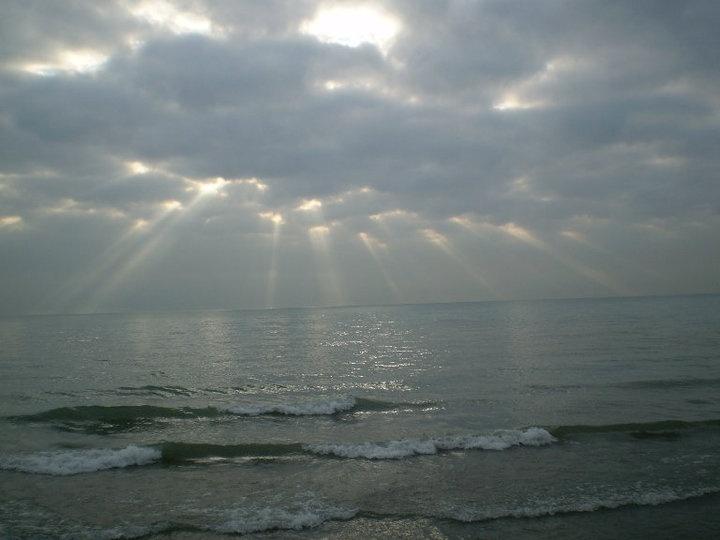 Glencoe Beach, beautiful on a cloudy day.