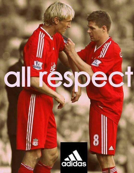Two #LFC Legends. Love this! http://steelcityshirts.co/products/liverpool-y-n-w-a-t-shirt... just some how feels right when we wear adidas