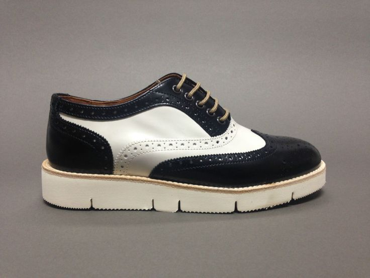 scarpe da donna con lacci francesine inglesine pelle platform brogues platform